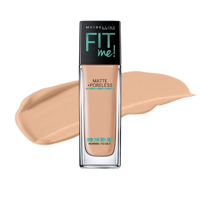 Maybelline Fit Me Matte+Poreless Foundation Natural Beige