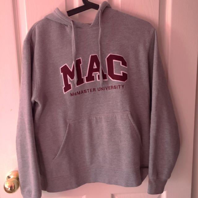 McMaster hoodie size M