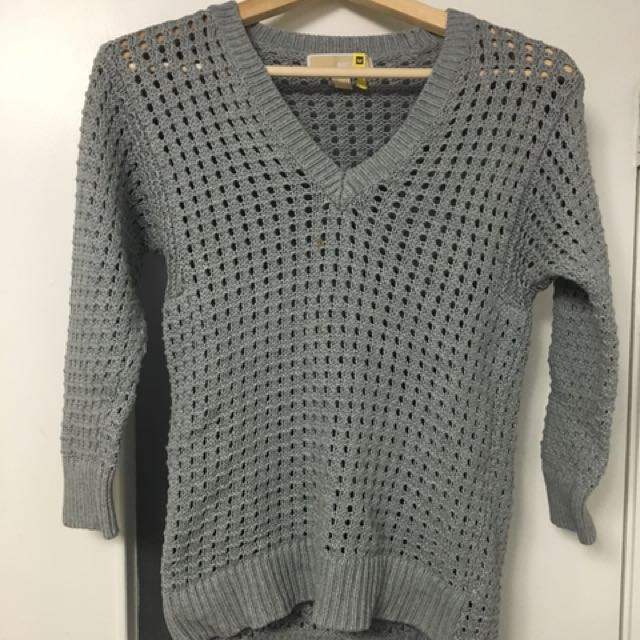 Michael Kors 3/4 Knit Sweater XS