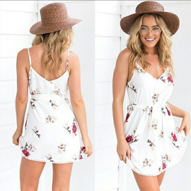Mini Floral Dress - Preorder
