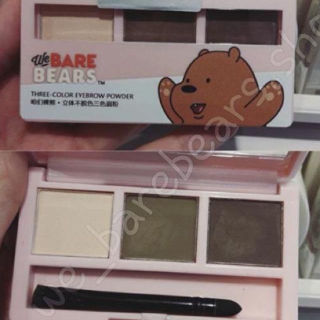 Miniso We Bare Bear Eyebrow Powder