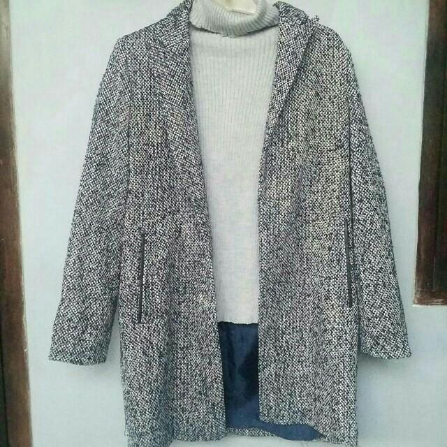 Navywhite Coat