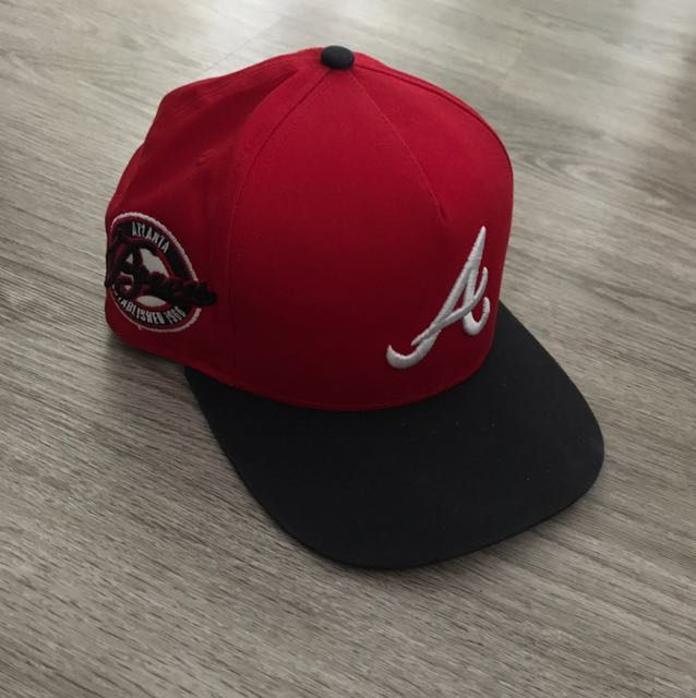 1faab397 ... where can i buy new era atlanta braves a frame snapback mens fashion  clothes on carousell
