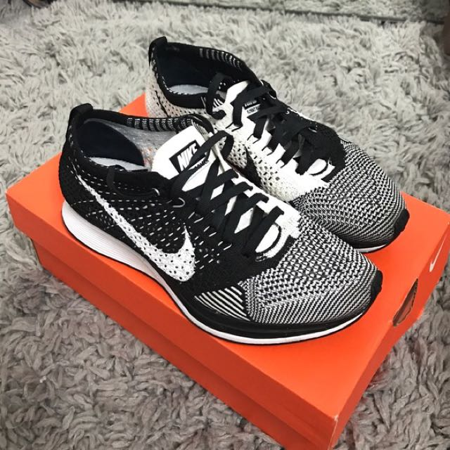 e49a78f4a41af ... Flyknit Racer Orca White Tongue photo photo photo photo photo NEW Nike  ...