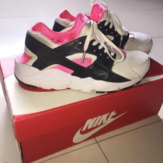 Nike Huaraches Pink/White