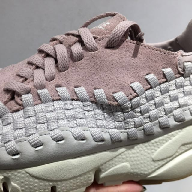 new concept 0eaf0 a214e NIKE Wmns Air Footscape Woven pink 917698-601, Womens Fashion, Womens  Shoes on Carousell