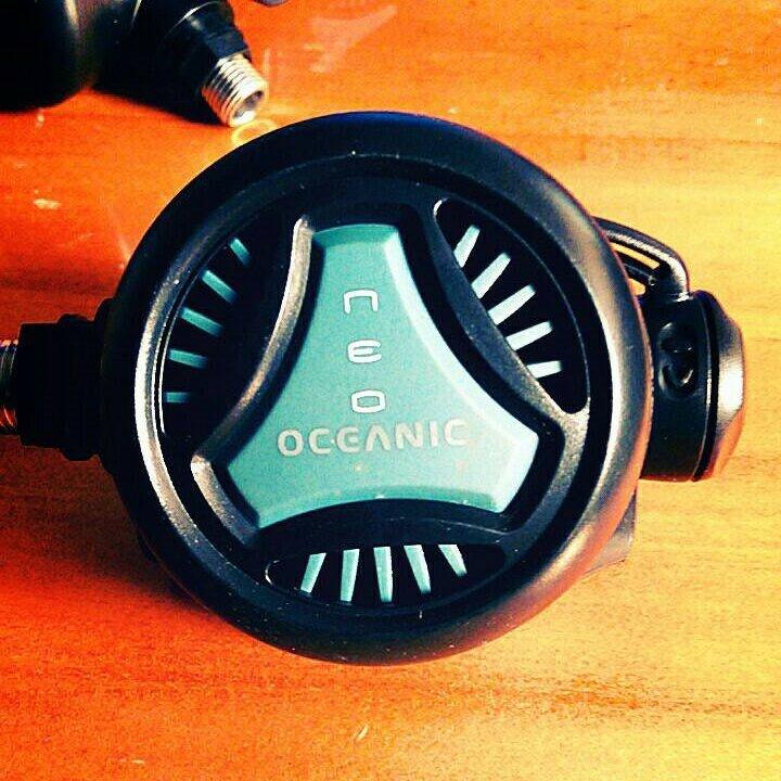 【潛水】Oceanic 可調式 二級頭調節器 (不附咬嘴)