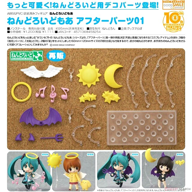 [OFFICIAL] [Pre-Order] Nendoroid More After Parts 01