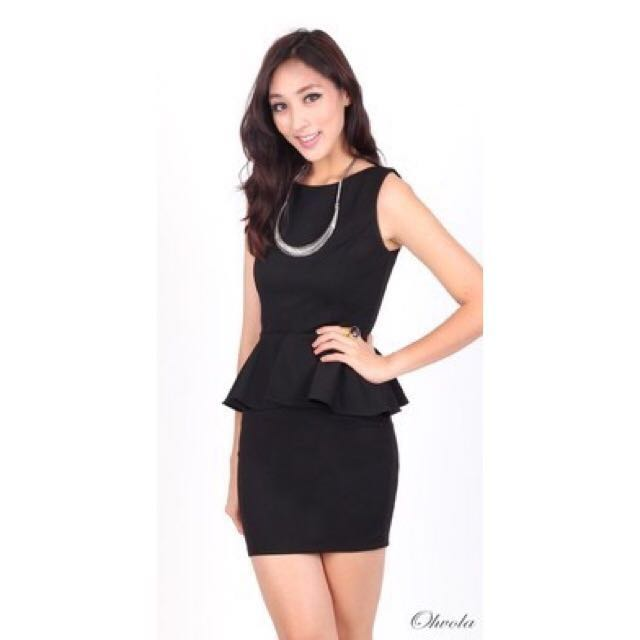 03a6686d67d Ohvola Career Peplum Dress