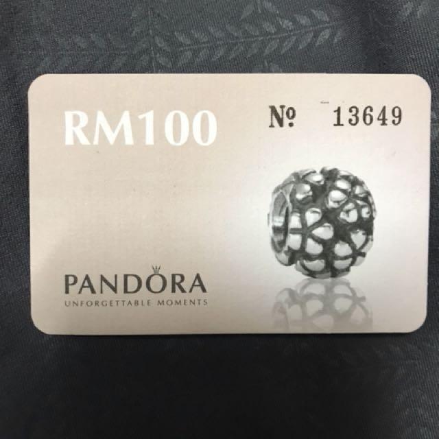 pandora baucer RM100 sell RM90