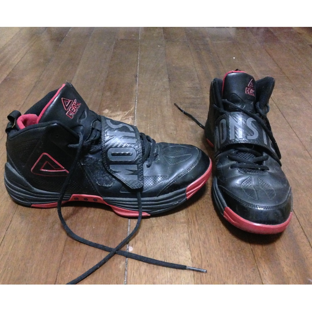 Peak Monster sz 11 Basketball Shoes