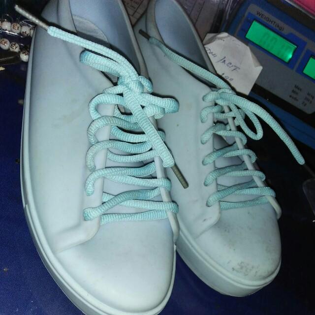 Preloved jelly shoes sepatu karet bara bara