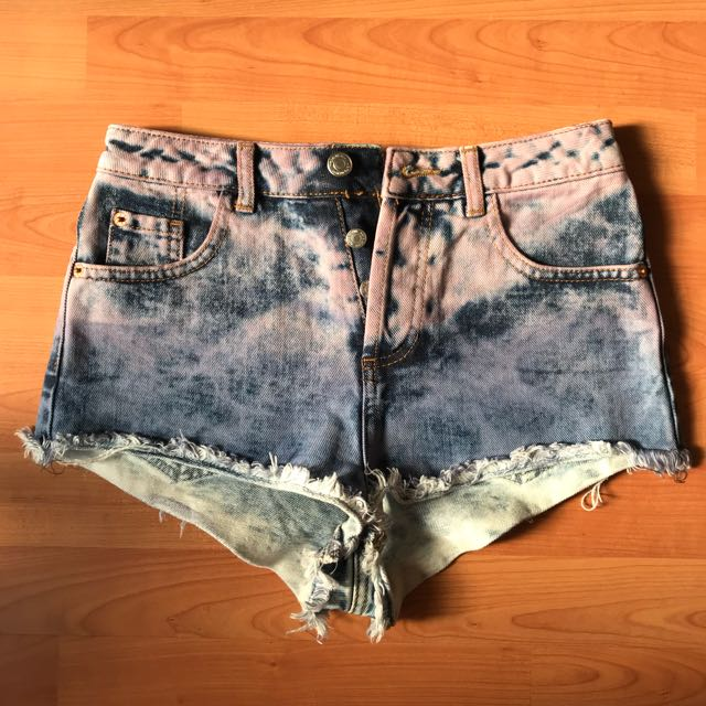 Pre-loved Topshop High-waisted Denim Shorts