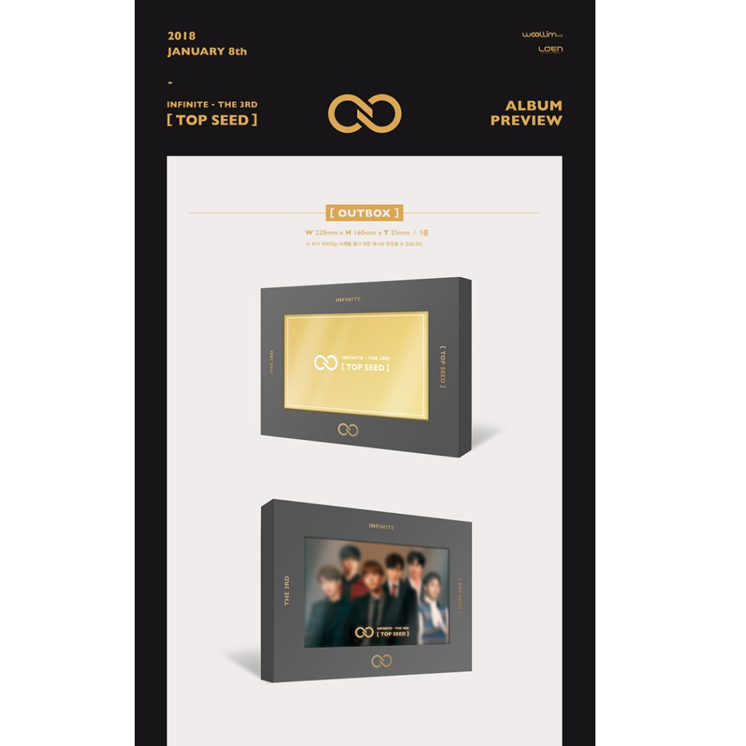 PREORDER] INFINITE - TOP SEED/ 3RD ALBUM, K-Wave on Carousell