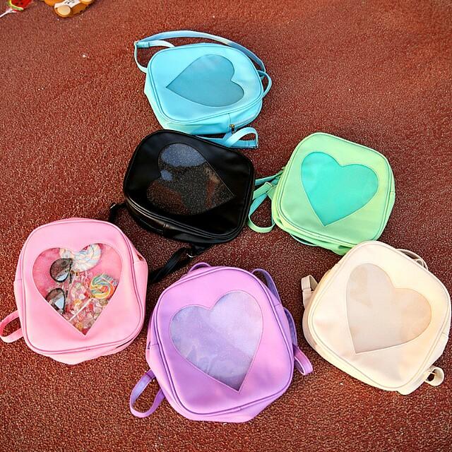 [Pre-Order] Transparent Heart Ita Bag