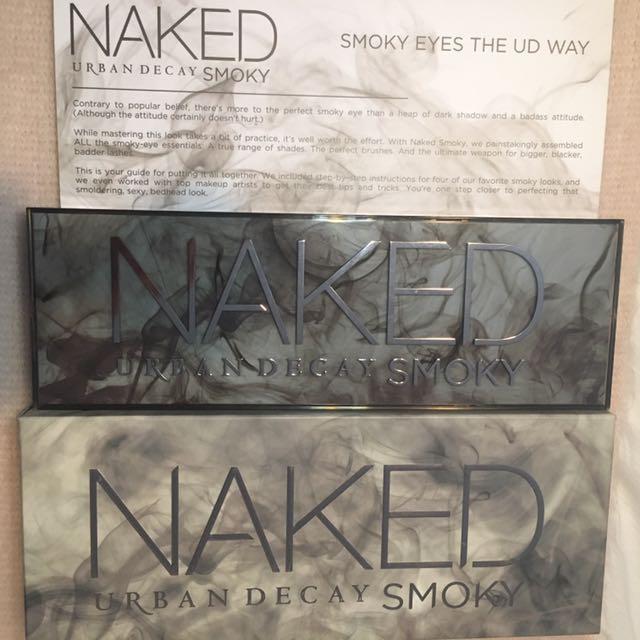 *Price Drop* Urban Decay Naked Smoky Eye Shadow Palette