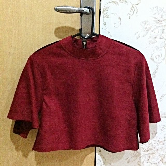 Red Top Suede