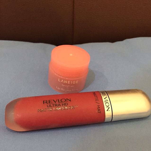 Revlon Ultra HD Passion, Laneige lip sleeping masj
