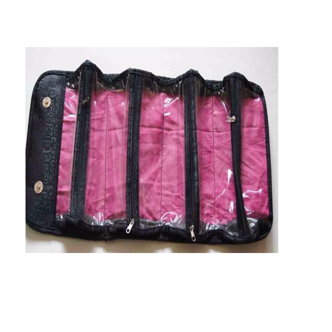 Unika Pembersih Komedo Bahan Karet Orange Pink Referensi Daftar Pinset Penjepit Blackhead Tweezer Jerawat Source Roll N Go Cosmetic Bag Tas Kosmetik