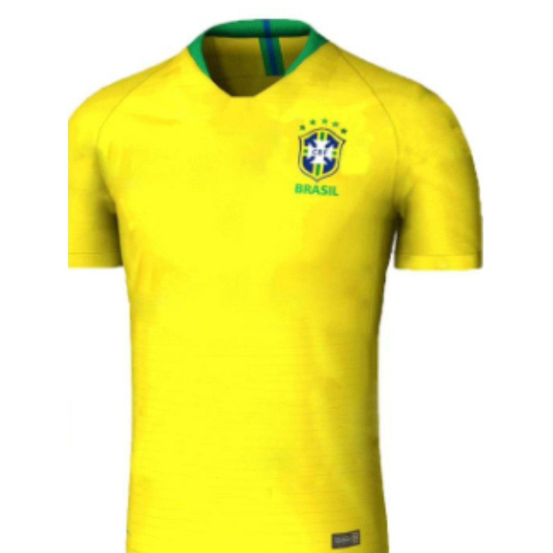 6ed3493d8  SALE  Brazil World Cup 2018 Jersey Home Away 3rd