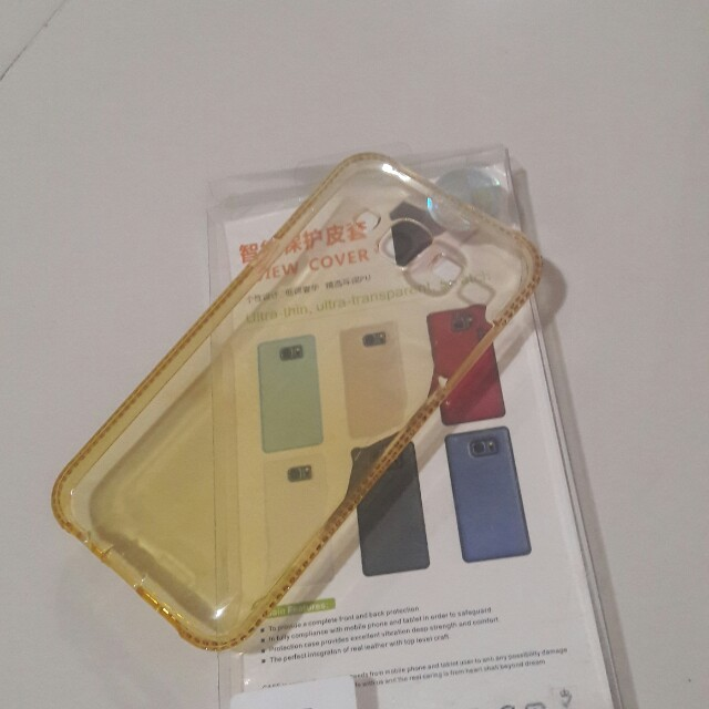 Samsung J5 and J7 2016 Jelly Clear Case