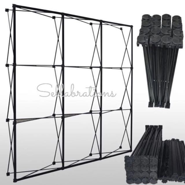 [Sellabrations] RENTAL 2.3m x 2.3m Spider Pull Up Display Stand Backdrop Stand