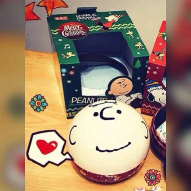 Snoopy 查理布朗 收納球 聖誕節款
