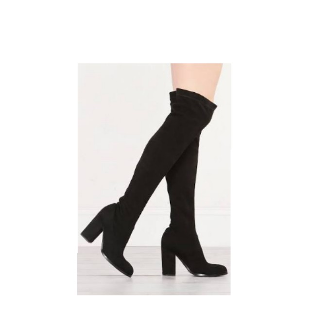 Sol Sana Suede Over the Knee boot