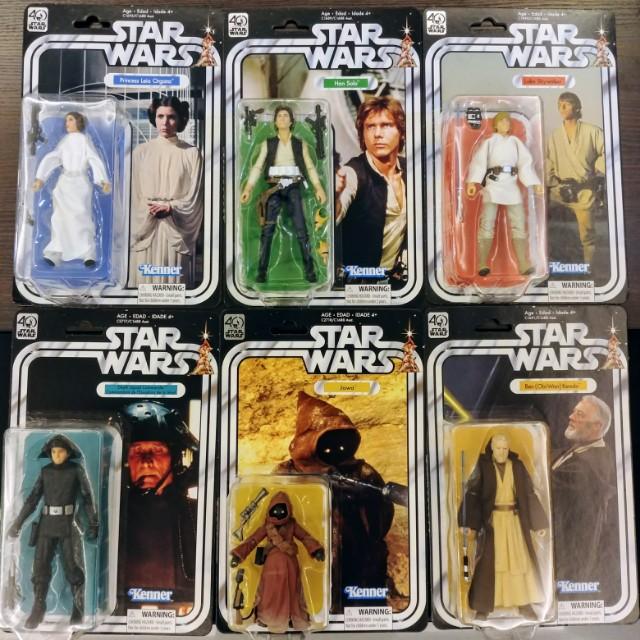 Star Wars 40th Anniversary 6inch Figures