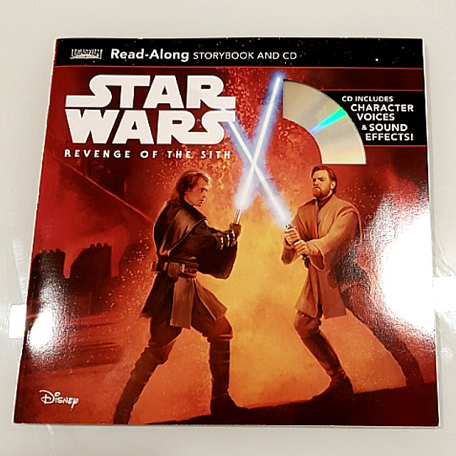 Star Wars Revenge Of The Sith Book Cd Toys Games Others On Carousell