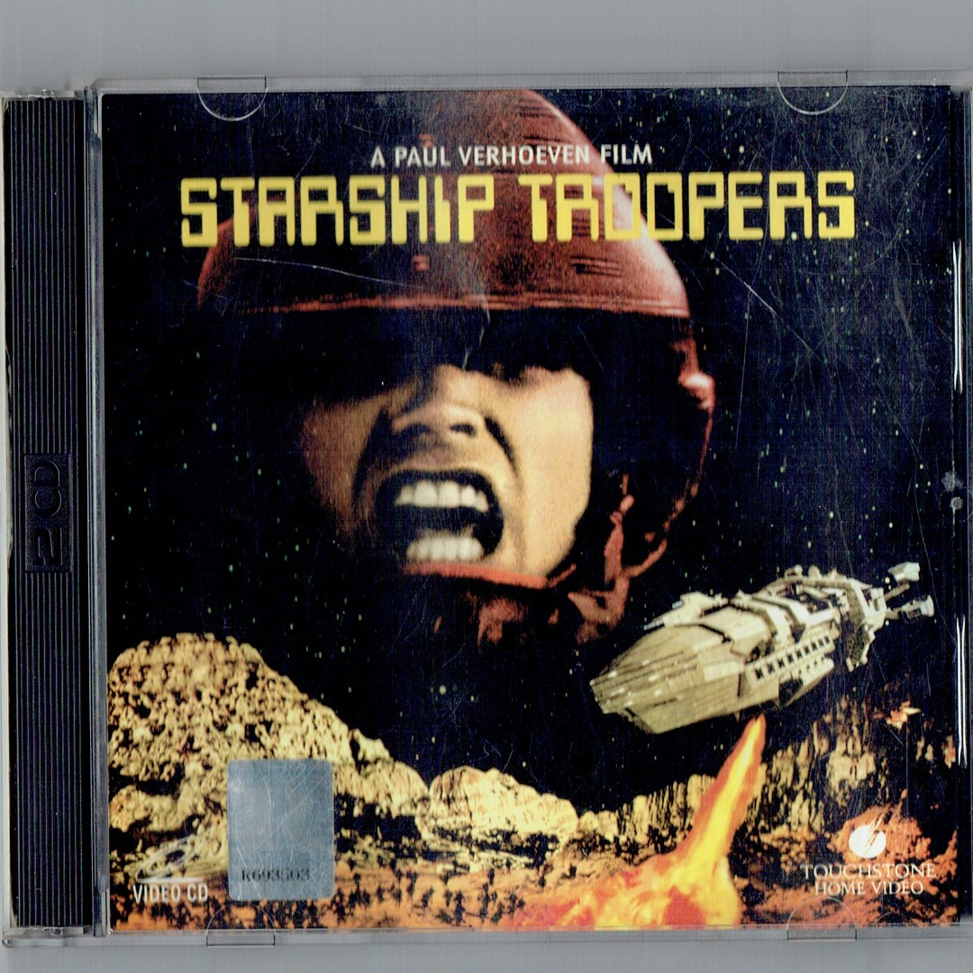Starship Troopers 1-2 VCDs