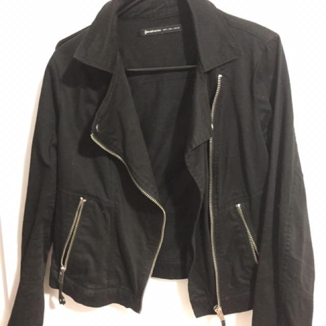 Stradivarius Black Casual jacket