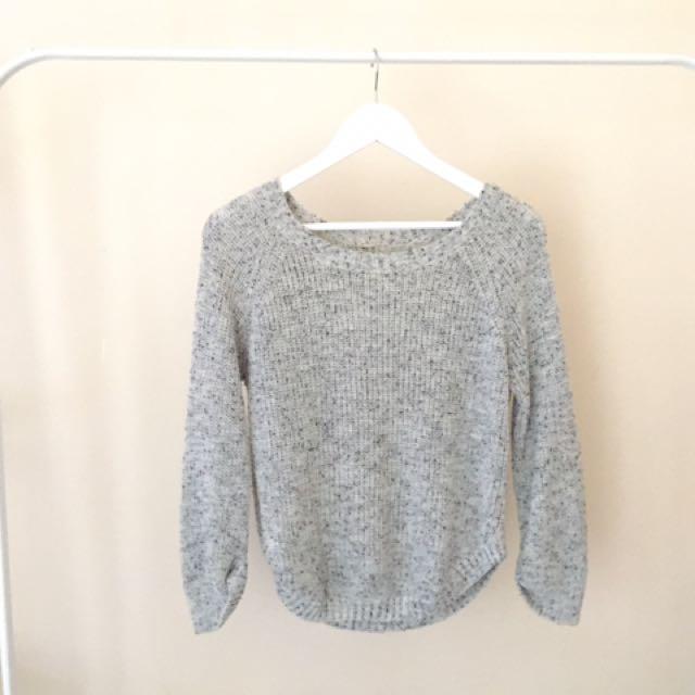 sweater grey hergoodsstore