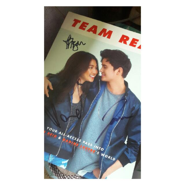 Team Real With Signature