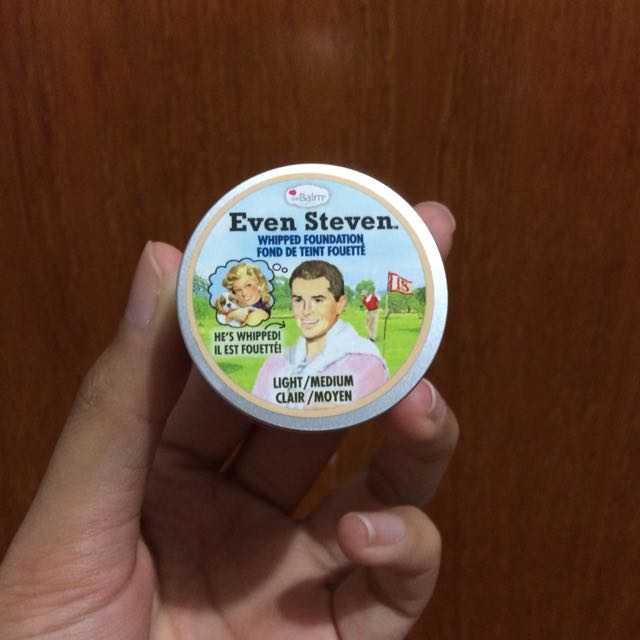 The balm even steven whipped foundation