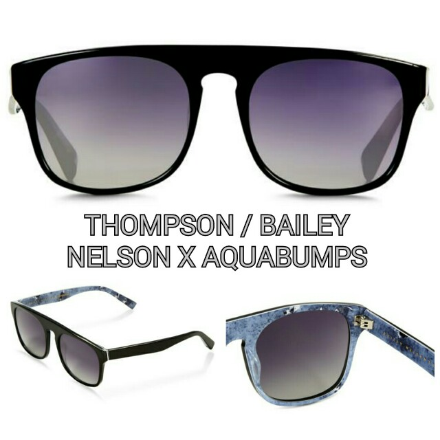 THOMPSON / BAILEY NELSON X AQUABUMPS  Unisex Sunglasses NWOT