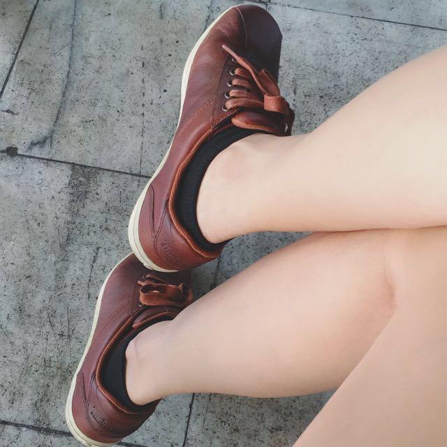 Timberland 牛皮 休閒鞋Us6