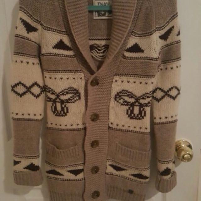 TNA sea-to sky Wool Sweater