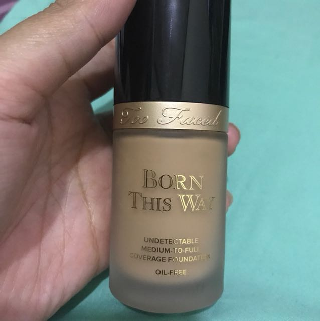 Too Faced Born This Way Foundation Shade Sand (NEGO)
