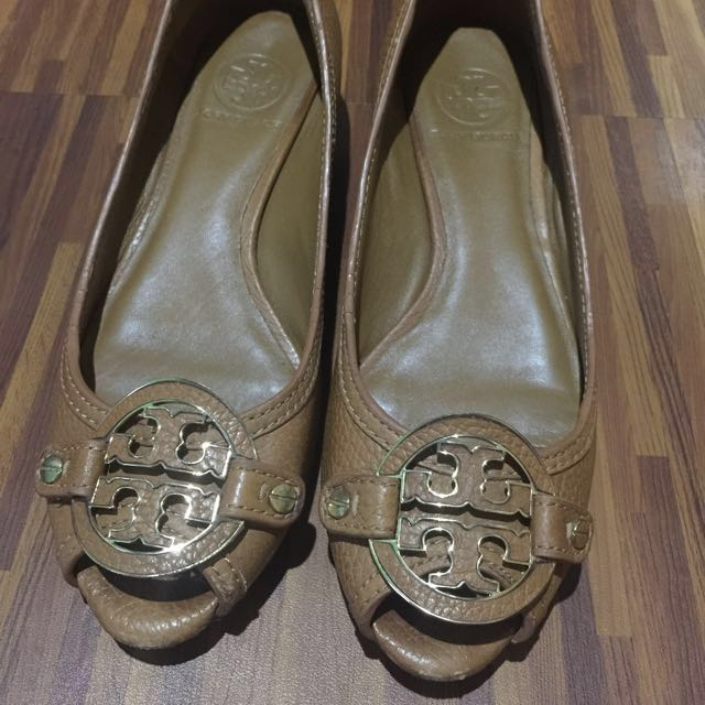 Tory Burch Amanda low wedge shoes