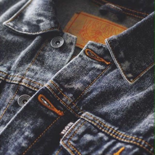 Vearst jeans trucker denim