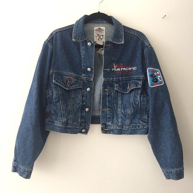 Vintage Bowling Denim Jacket