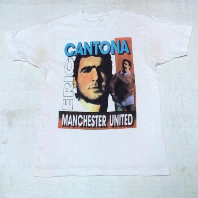 vintage manchester united mu eric cantona