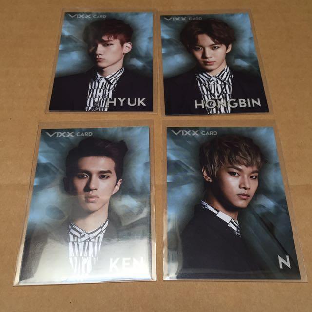 VIXX Darkest Angels (type e Ravi ver.) w/ first press postcard, pc