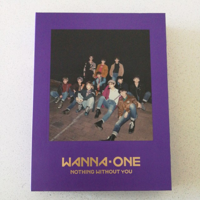 Wanna One 1-1=0 Album (Purple Ver.)