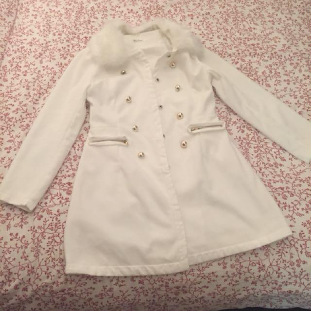 White jacket L