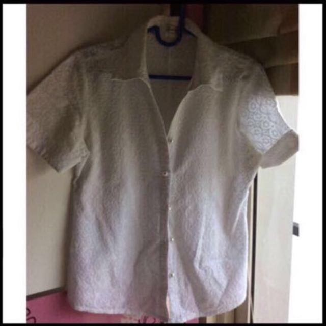 White Woman Blouse
