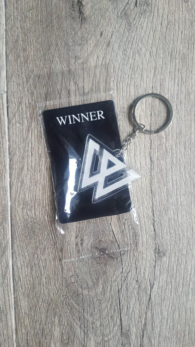 Winner Acryclic Keychain