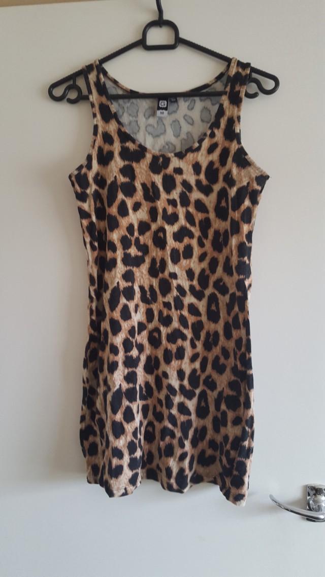 Women's leopard dress
