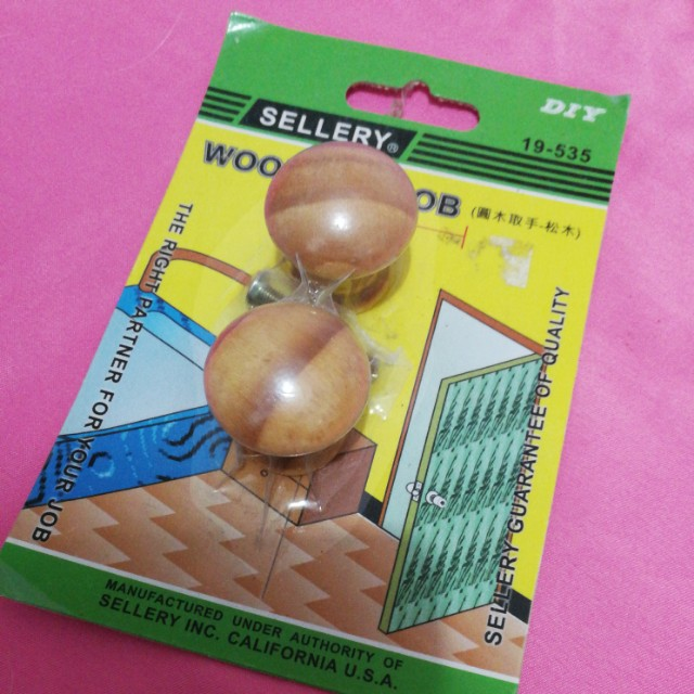 Wooden Knob for Cabinet